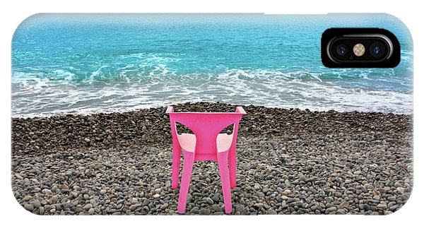 The Pink Chair IPhone Case