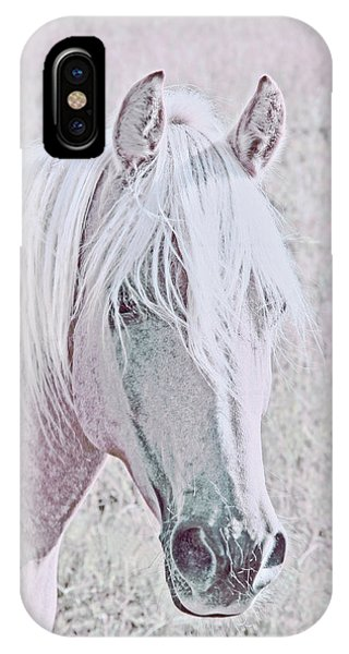 IPhone Case featuring the photograph The Pink Horse by Jennie Marie Schell