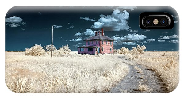 The Pink House In Halespectrum 1 IPhone Case