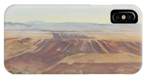 Impressionistic iPhone Case - The Plains Of Nazareth by John Singer Sargent