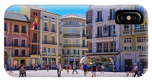 The Plaza On A Sunday Afternoon IPhone Case