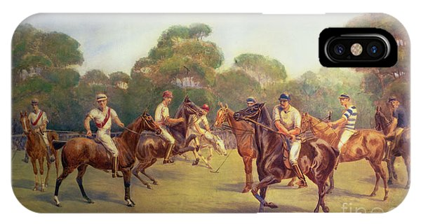 The Polo Match IPhone Case