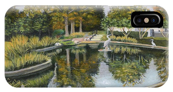 The Pond At Maple Grove IPhone Case