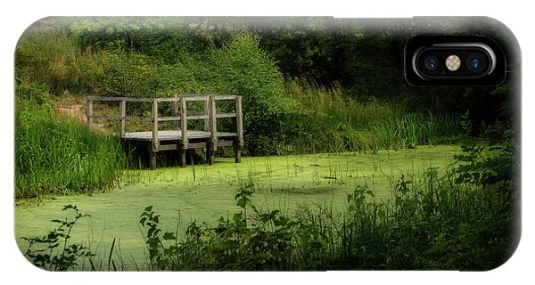 IPhone Case featuring the photograph The Pond by Jeremy Lavender Photography