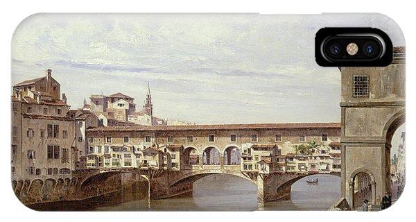 The Pontevecchio - Florence  IPhone Case