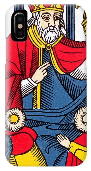 The Pope Tarot Card IPhone Case