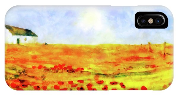 The Poppy Picker IPhone Case