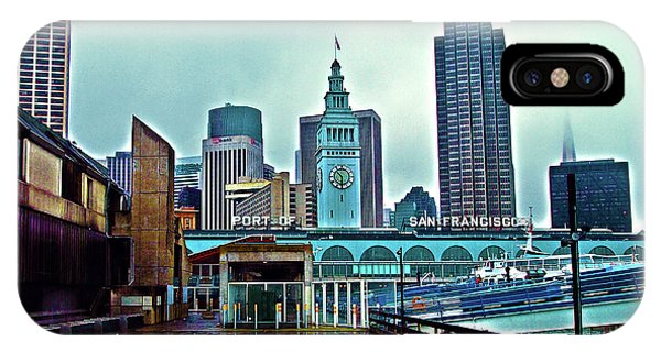 The Port Of San Francisco IPhone Case