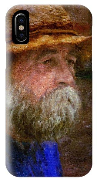 The Portrait Of A Man IPhone Case