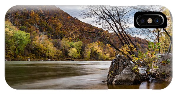 The Shenandoah In Autumn IPhone Case