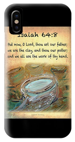 The Potter Bible Verses IPhone Case