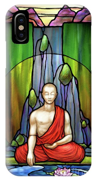 The Praying Monk IPhone Case
