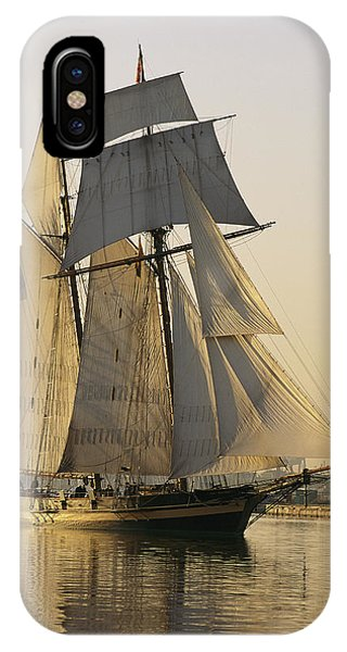The Pride Of Baltimore Clipper Ship IPhone Case