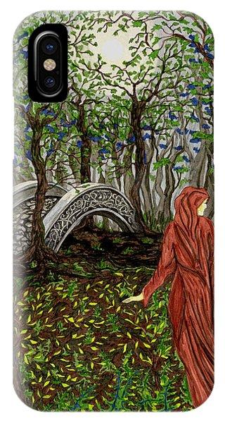 The Priestess Of Ealon IPhone Case