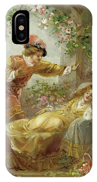 Awakening iPhone Case - The Prince Finds The Sleeping Beauty by English School