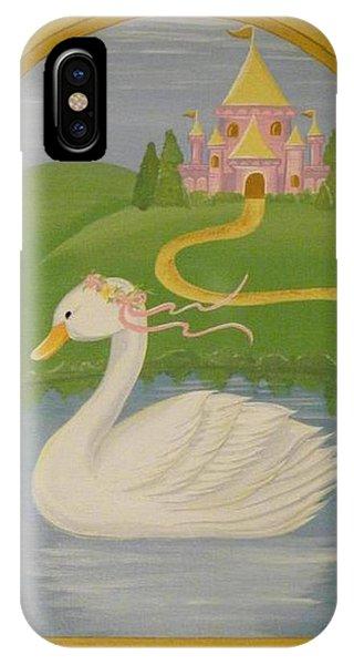 The Princess Swan IPhone Case