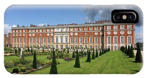 The Privy Garden Hampton Court IPhone Case
