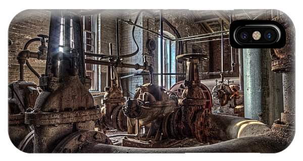 Urban Decay iPhone Case - The Pumphouse by Everet Regal