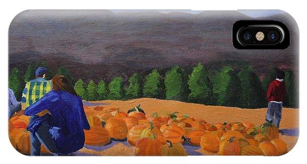 The Pumpkin Patch IPhone Case