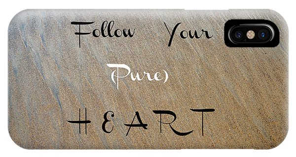 The Pure Heart IPhone Case