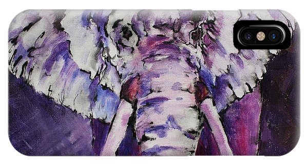 The Purple Bull IPhone Case
