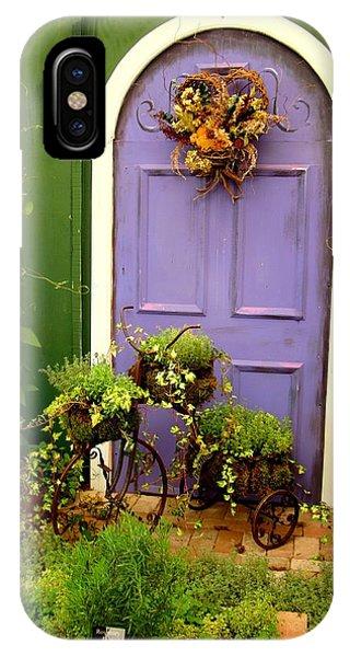 The Purple Door IPhone Case