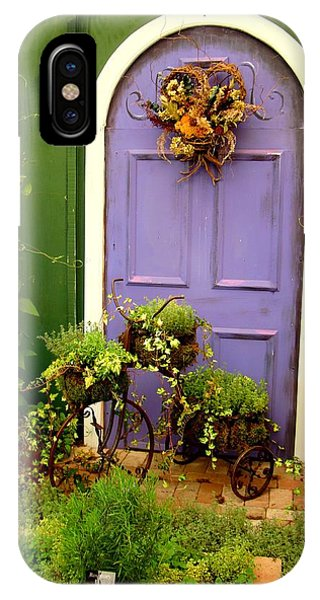 The Purple Door IPhone Case