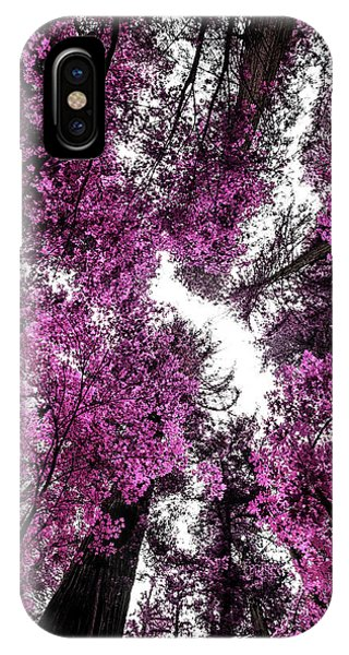 The Purple Forest IPhone Case