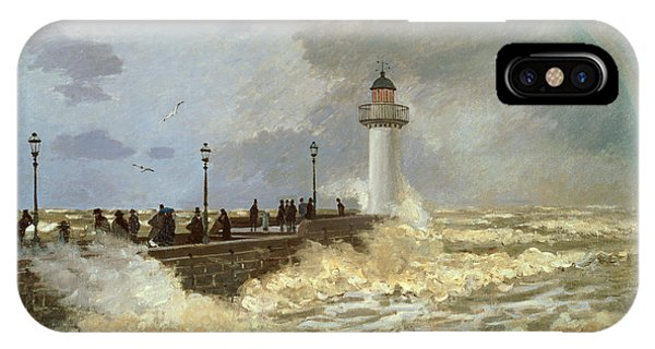 The Quay At Le Havre IPhone Case