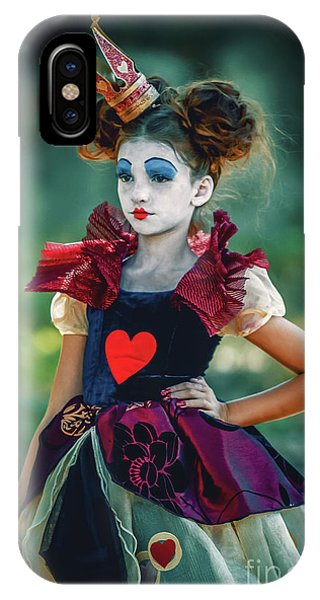 The Queen Of Hearts Alice In Wonderland IPhone Case