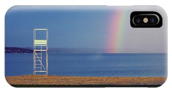 The Quiet Season - Lake Geneva Wisconsin IPhone Case