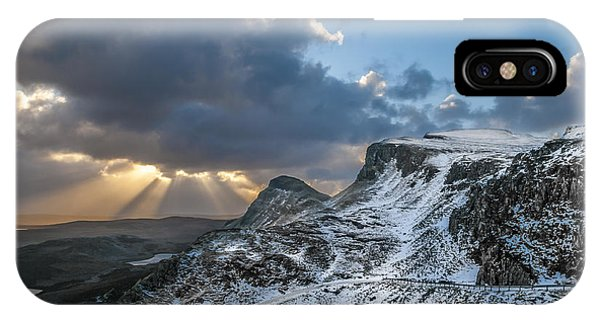 The Quiraing Just After Dawn IPhone Case