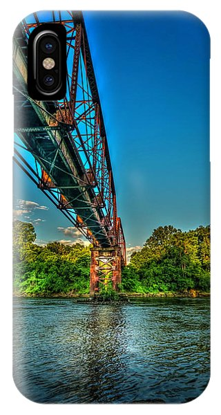 Cypress iPhone Case - The Rail Bridge by Marvin Spates