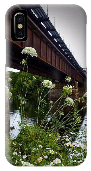 The Railroad Bridge IPhone Case