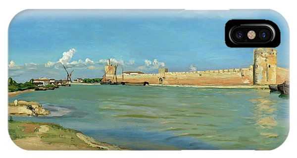 The Ramparts At Aigues Mortes IPhone Case