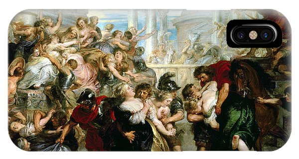 Struggle iPhone Case - The Rape Of The Sabine Women by Peter Paul Rubens
