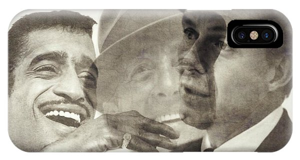 Frank Sinatra iPhone Case - The Rat Pack by Paul Lovering