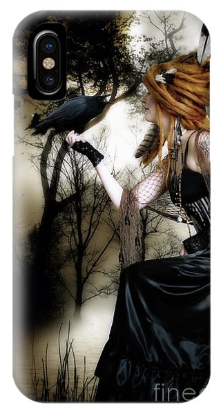 iPhone Case - The Raven by Shanina Conway