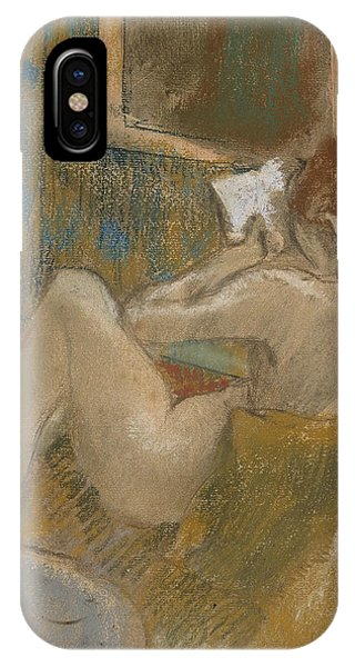 French Painter iPhone Case - The Reading Light by Edgar Degas