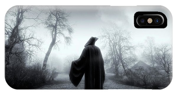 The Reaper Moving Through Mist And Fog IPhone Case