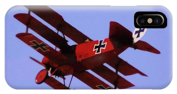 The Red Baron II IPhone Case
