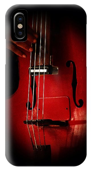 The Red Cello IPhone Case