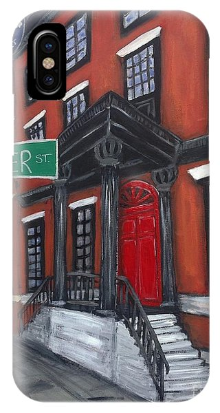 The Red Door IPhone Case