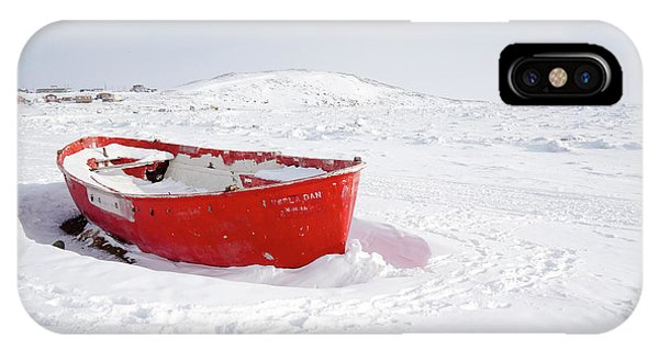 The Red Fishing Boat IPhone Case