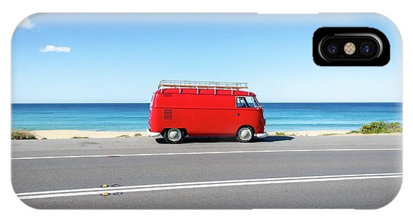 The Red Kombi IPhone Case