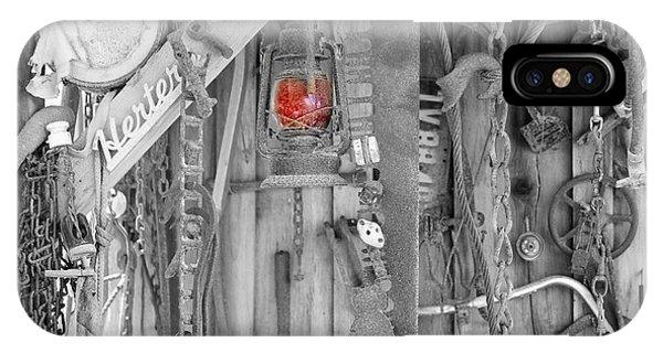 Timeworn iPhone Case - The Red Lantern by Marnie Patchett