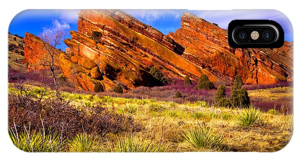 The Red Rock Park Vi IPhone Case