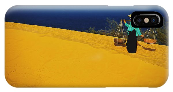 The Red San Dunes Of Mui Ne Vietnam IPhone Case
