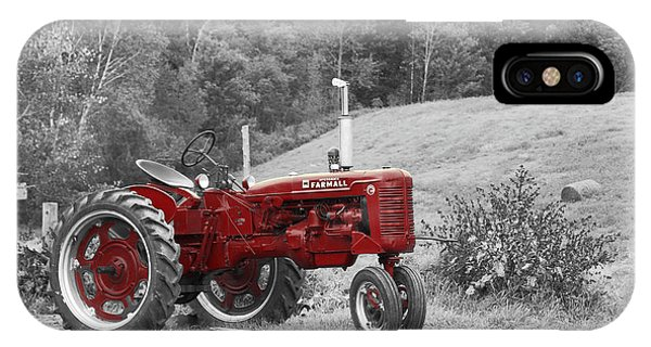 The Red Tractor IPhone Case