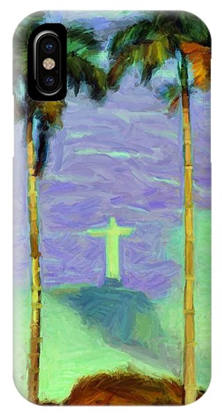 The Redeemer IPhone Case